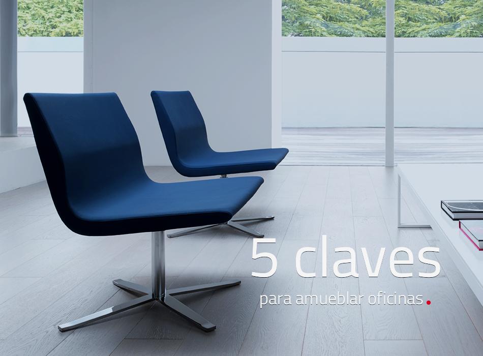 5 claves para amueblar oficinas