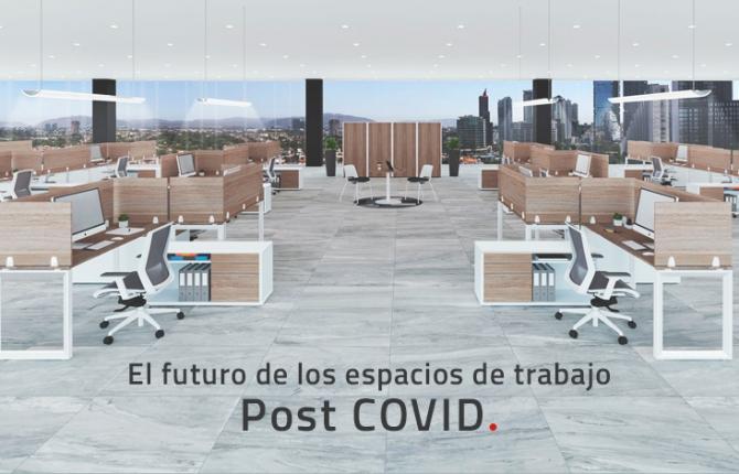 El futuro de los espacios de trabajo Post COVID